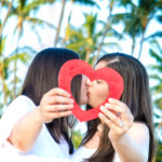 LGBT engagement photos Hawaii